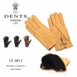 『入荷   DENTS (デンツ) 15-1011 ディアスキン×カシミア stud closure』の画像