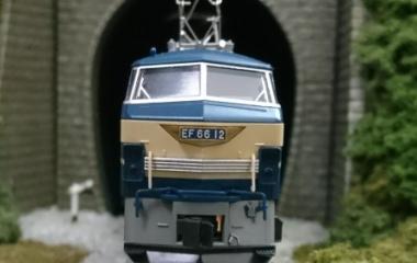 『KATO EF66 前期形 入線』の画像