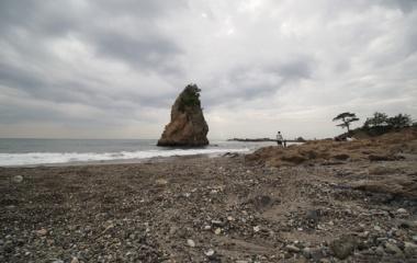 『LAOWA7.5mmによる立石・秋谷海岸② 2019/09/23』の画像