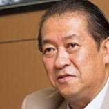 『【病気】激やせ鳩山邦夫元総務大臣の本当の死因が判明…病名はなんと…(画像あり)』の画像