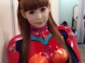 【画像あり】中川翔子さんのアスカのコスプレwwwwwwwwww