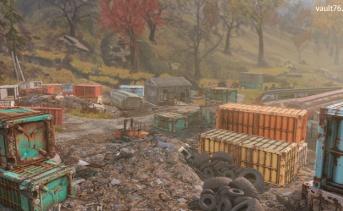 渓谷の廃品集積場(Gorge junkyard)