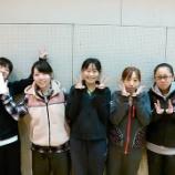 『平成26年度仙台市秋季卓球リーグ戦〈女子の部〉』の画像