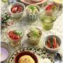 【レシピ】和献立も洋献立にも。ごぼうポテトのチーズ味噌サラダ。と ハンバーグの献立。 と おーーばーーけーーーー!