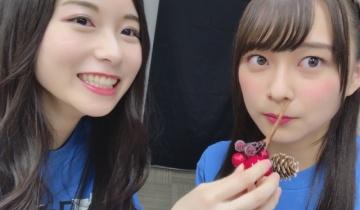 【乃木坂46】遠近法使って絢音の鼻にいたずらする琴子可愛いかよ!