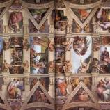 『行った気になる世界遺産 バチカン市国 システィーナ礼拝堂 天井画』の画像