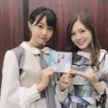 『【乃木坂46】美しすぎる2ショット!白石麻衣、STU48センター瀧野由美子との写真を公開!!!』の画像
