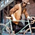 高級自転車乗りおじさんの普段着