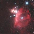 『オリオン座の馬頭星雲(IC434)付近の散光星雲』の画像