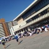 『【乃木坂46】『真夏の全国ツアー@福岡国際センター』炎天下の会場周辺の様子をご覧ください・・・』の画像