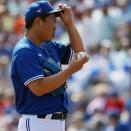 山口俊さん、3安打2四死球3失点の大炎上で1回持たず降板