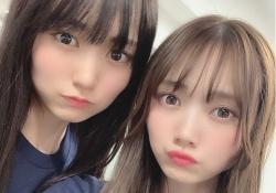 【衝撃】田村真佑&賀喜遥香のツーショットかわいすぎワロタwww
