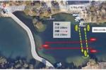 天野が原町が、くろんど池を貸し切ってスワンボートのレースとか企画してる!