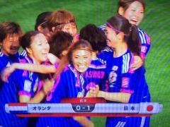 【速報動画】有吉ゴールでなでしこ先制!日本 1-0 オランダ!