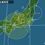 『高校野球も浜松近隣の花火大会も順延・中止に!台風6号はこれから今晩にかけて浜松に接近・通過する見込み』の画像