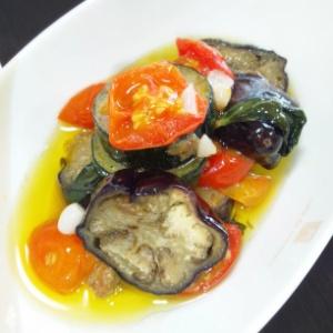 焼き夏野菜のオイル煮