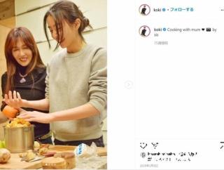 工藤静香、後継者は次女Kōki, インスタ料理写真が「まるで生ゴミ」と話題