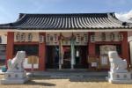 住吉神社の狛犬が200年ぶりに新しくなってる!以前のはどこに行ったでしょうか!?