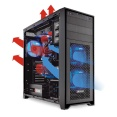 PCの冷却強化 ~ ケースファンを追加しよう