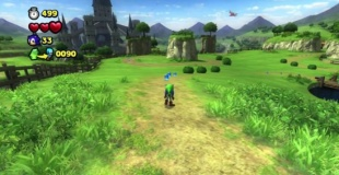 WiiU『ソニック ロストワールド』追加DLC『ゼルダの伝説Zone』が国内でも本日配信開始。プレイ動画有り