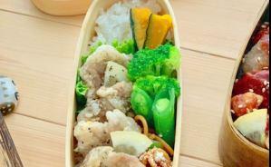 豚肉カリカリ揚げのお弁当レシピ