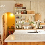 『DIYで作るおしゃれなキッチン棚【作り方&アイデア集】』の画像