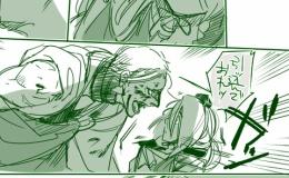 【刀剣乱舞】戦場でエキサイトしすぎた岩融と、今剣の2パターン(三条)