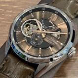 『日本製の自動巻き腕時計・オリエントスター』の画像
