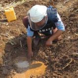 『2015.02.07 対戦車地雷を回収』の画像