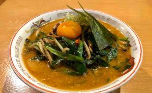 「中毒性が高い」濃厚スープのラーメン