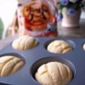 ホットケーキミックスでメロンパン作ってみた。