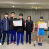 『宮城県中学校新人卓球大会』の画像