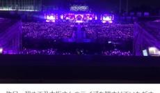 宮脇咲良が乃木坂4周年ライブ観覧「とっても綺麗でした」