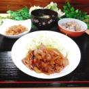 豚バラの生姜焼き