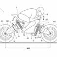 カワサキの体重移動のみで曲がる謎の電動バイクの特許。Concept Jの発展形みたい