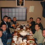 『2003年12月10日 JF7HQV 壮行会:弘前市本町・「花いちもんめ」』の画像