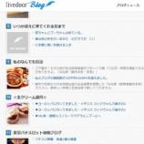 『ライブドアブログの「日記」部門ランキングで9位にランクイン。けっこう読まれていますね「私のなんでも日記」。』の画像