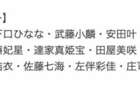 牧野アンナ公演、メンバー入れ替え?10/23公演に初出演が8人!