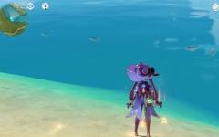 【原神】ここ蟹いっぱいとれるぞ