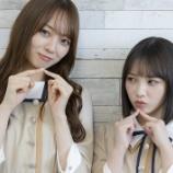 『大好評につき梅ちゃんと与田ちゃんのインタビューの収録カットを一部公開!!』の画像