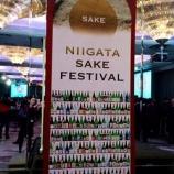 """『こだわり""""新潟酒""""を堪能しながら☆『Niigata SAKE Festival 』』の画像"""