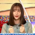 足立梨花さん、顔に謎のアザを付けてテレビ出演 何の説明もなく視聴者から心配の声殺到