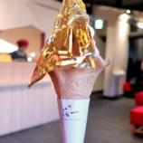 『金沢で香箱蟹を食べる旅:ひがし茶屋街で金箔ソフト』の画像