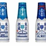 『【新商品】手軽にちょこっと。東京の地酒ブランド「東京の酒蔵」発売』の画像