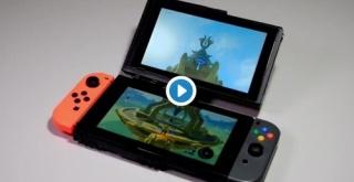 Nintendo Switchを2画面でプレイ!海外デザイナーが「Switch DS」を発明!