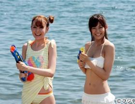 ドラマ「山田くんと7人の魔女」で西内まりや、トリンドル玲奈らがキュートな水着姿披露