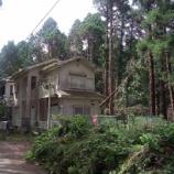 『台風15号 危険空き家の倒壊と植樹の倒木リスク【中編】』の画像