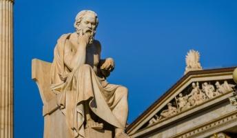 ソクラテス「若者よ、なぜ貴方は笑わないのだね」 若者「師よ、私は苦しいのです」