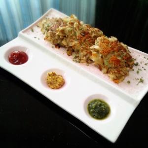 菊芋のハッシュドポテト