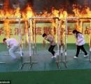 【画像】中国の避難訓練がマジキチ